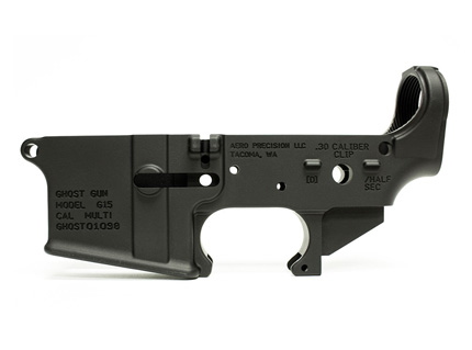 AR15 Stripped Lower Receiver Special Edition Ghost Gun