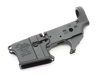 Stripped AR15 Lower Receiver