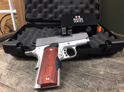 Ultra Carry II 45ACP with Crimson Trace Laser