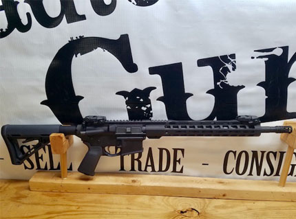 AR15 5.56 with Flip up Sights