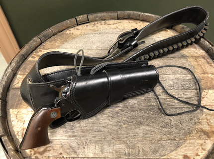 Single Six 22LR with Leather Holster Rig