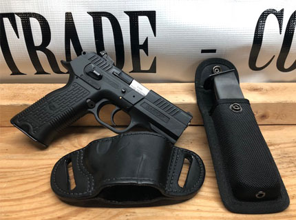 SAR KTP 9MM 2 Magazines with Holster and Mag Pouch