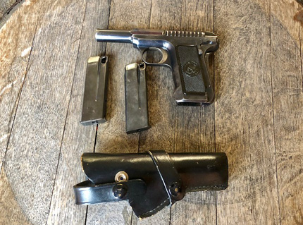 1915 Hammerless 32 with Holster