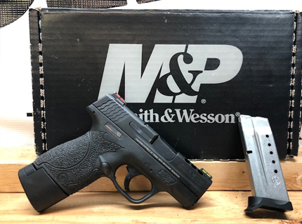 Shield Performance Center 9MM with Stippled Grip