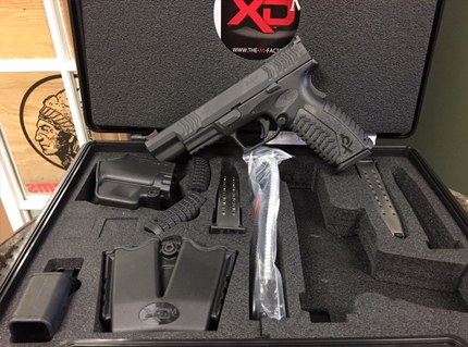 XDM Competition 9MM with Extras