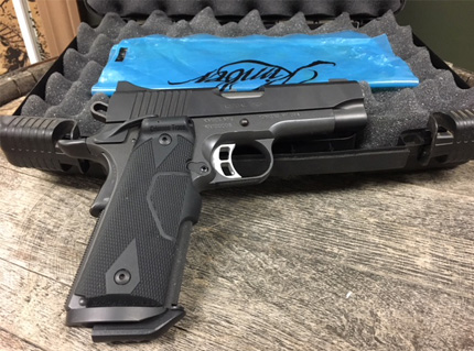 Tactical Pro II 45ACP with Crimson Trace Laser
